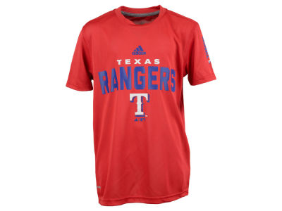 Texas Rangers MLB Youth Batter Climalite T-Shirt