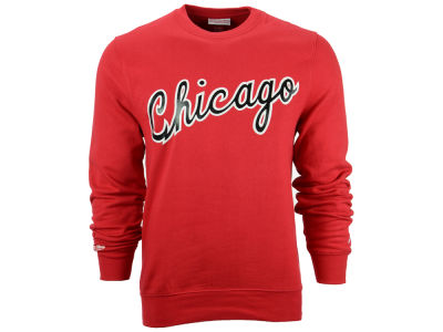 Chicago Bulls Mitchell and Ness NBA Men's 84-85 Wordmark Crew Sweatshirt