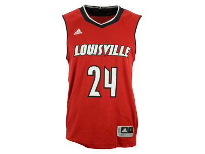 Louisville Cardinals #24 adidas NCAA Basketball Replica Jersey