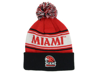 Miami (Ohio) Redhawks Top of the World NCAA Ambient Pom Knit