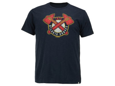 Atlanta Braves '47 MLB Men's Scrum Logo T-Shirt