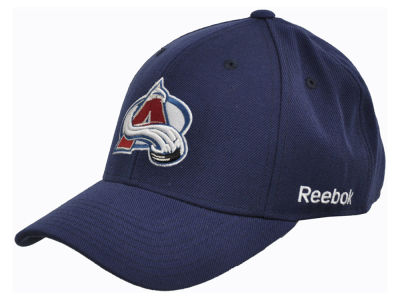Colorado Avalanche Reebok NHL Core Basic Adjustable Cap