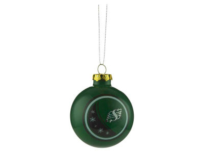 Saskatchewan Roughriders 2017 Glass Ball Ornament
