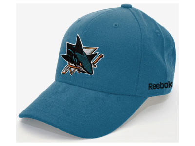 San Jose Sharks Reebok NHL Core Basic Adjustable Cap