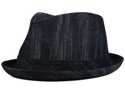 LIDS Private Label PL Brushed Denim w/ Tonal Band Pork Pie