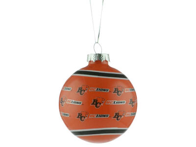 BC Lions 2017 Glass Ball Ornament