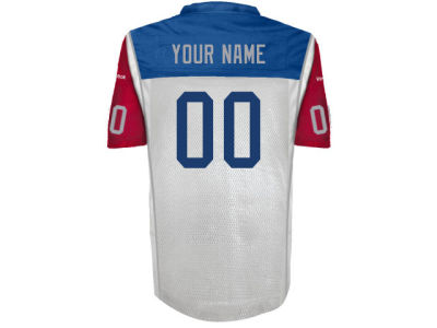 Montreal Alouettes Reebok CFL Men's Customizable Premier Away Jersey