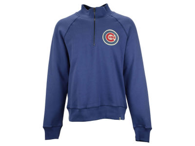 Chicago Cubs MLB Men's X-Check 1/4 Zip Up Pullover Shirt