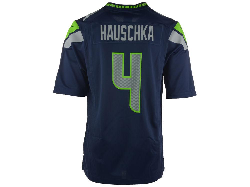 71c44750b Seattle Seahawks Steven Hauschka Nike NFL Men s Game Jersey