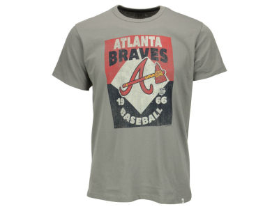 Atlanta Braves '47 MLB Men's Knockaround Flanker T-Shirt