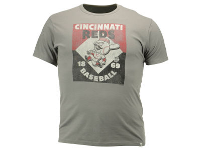 Cincinnati Reds '47 MLB Men's Knockaround Flanker T-Shirt