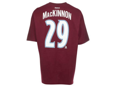 Colorado Avalanche Nathan MacKinnon Reebok NHL CN Player T-Shirt