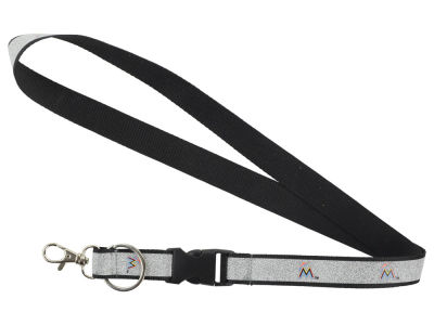 Miami Marlins Sparkle Lanyard-Aminco