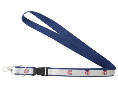Minnesota Twins Aminco Sparkle Lanyard-Aminco
