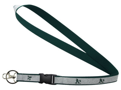 Oakland Athletics Sparkle Lanyard-Aminco