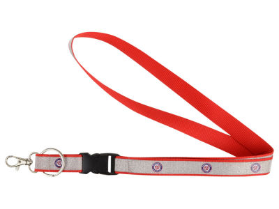 Washington Nationals Sparkle Lanyard-Aminco