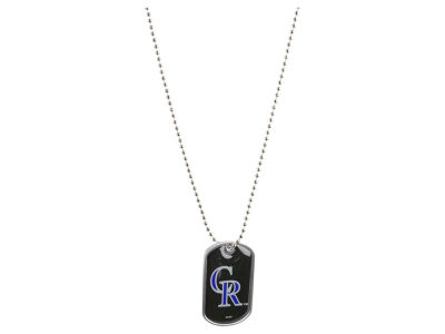 Colorado Rockies MLB Dog Tag