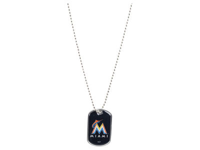 Miami Marlins Aminco MLB Dog Tag