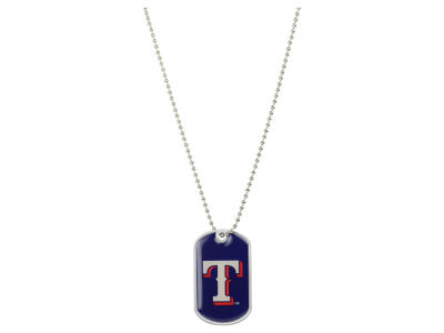 Texas Rangers MLB Dog Tag