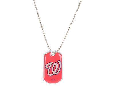 Washington Nationals MLB Dog Tag