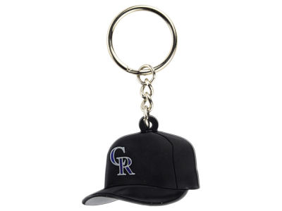 Colorado Rockies MLB Soft Rubber Cap Keychain