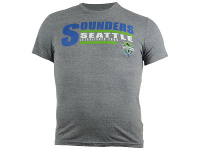 Seattle Sounders FC GIII MLS Men's Team Logo Triblend T-Shirt