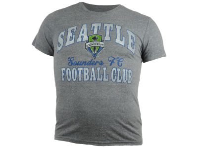 Seattle Sounders FC GIII MLS Men's Arched Graphic Triblend T-Shirt