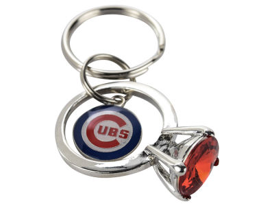 Chicago Cubs Bling Keyring