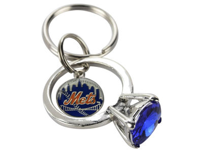 New York Mets Bling Keyring
