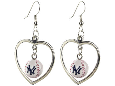 New York Yankees Aminco Mini Baseball Dangler Earrings