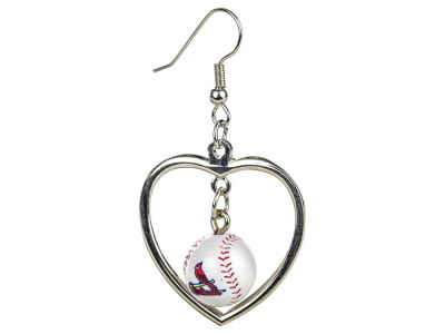 St. Louis Cardinals Mini Baseball Dangler Earrings