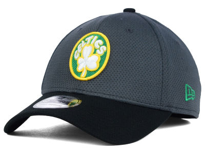 Boston Celtics New Era NBA HWC Graphite 39THIRTY Cap