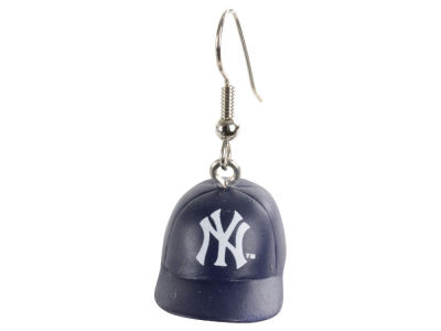 New York Yankees Aminco 3D Baseball Cap Earrings