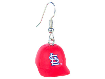 St. Louis Cardinals Aminco 3D Baseball Cap Earrings