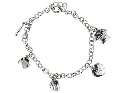St. Louis Cardinals Five Charm Bracelet
