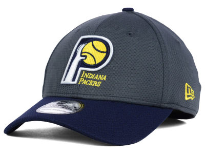 Indiana Pacers New Era NBA HWC Graphite 39THIRTY Cap