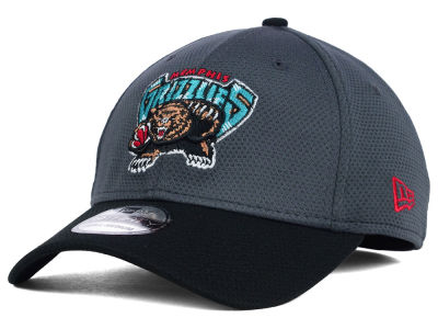 Vancouver Grizzlies New Era NBA HWC Graphite 39THIRTY Cap