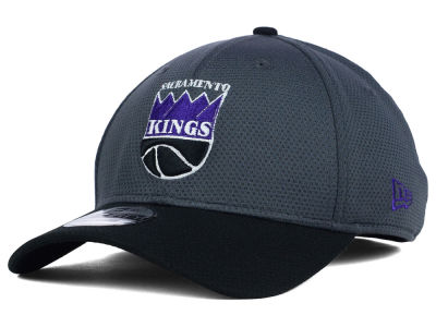 Sacramento Kings New Era NBA HWC Graphite 39THIRTY Cap