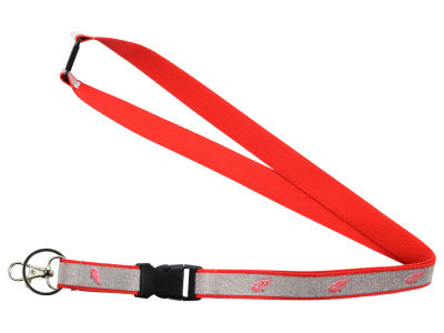 Detroit Red Wings Sparkle Lanyard-Aminco