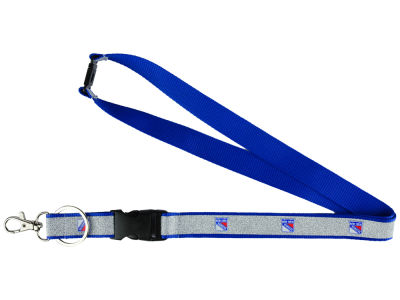 New York Rangers Sparkle Lanyard-Aminco