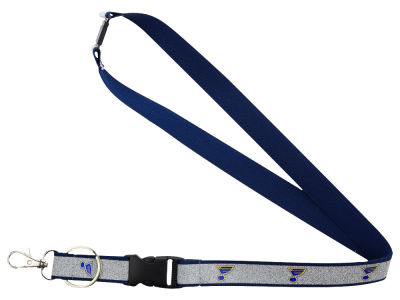 St. Louis Blues Sparkle Lanyard-Aminco