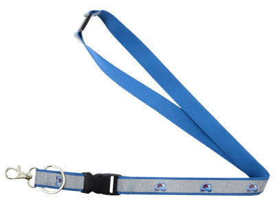 Colorado Avalanche Sparkle Lanyard-Aminco