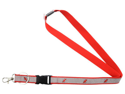 New Jersey Devils Sparkle Lanyard-Aminco