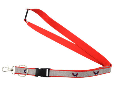 Washington Capitals Sparkle Lanyard-Aminco