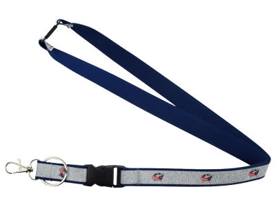 Columbus Blue Jackets Sparkle Lanyard-Aminco