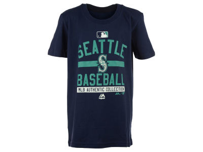 Seattle Mariners Outerstuff MLB Youth On-Field Team Property T-Shirt