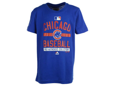 Chicago Cubs Outerstuff MLB Youth On-Field Team Property T-Shirt