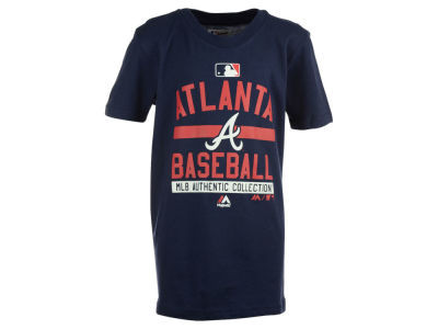 Atlanta Braves Outerstuff MLB Youth On-Field Team Property T-Shirt