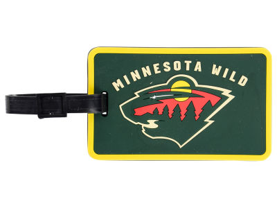 Minnesota Wild Soft Bag Tag