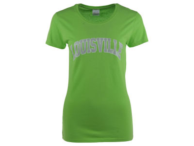 Louisville Cardinals NCAA Women's Sparkle Arch T-Shirt